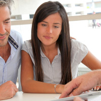 Couple Looking for a Bank Statement Home Loan
