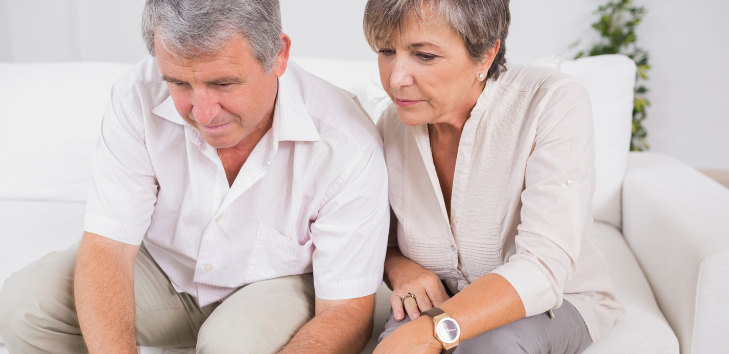 Older Couple Looking For A Reverse Mortgage Quote